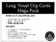 Long Vowel Clip Cards Mega Pack