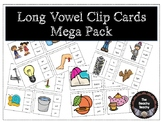 Long Vowel Clip Cards Mega Pack