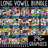 Long Vowel Clipart Bundle {Creative Clips Digital Clipart}
