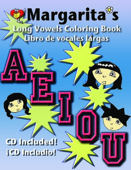 Long Vowel Coloring Book