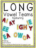 Long Vowel Teams Bundle Packet