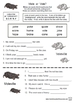 Long Vowel Words FUN Worksheets
