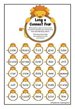 Long Vowel Connect Four