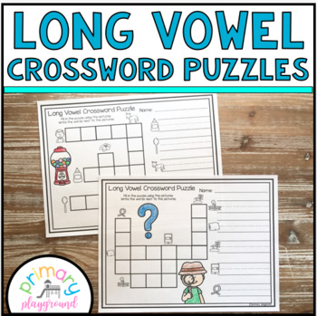 Long Vowel Crossword Puzzles