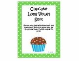 Long Vowel  Cupcake Sort
