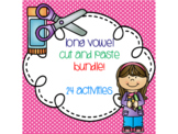 Long Vowel Cut and Paste Bundle {24 activities}