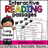 Long Vowel Interactive Reading Passages