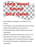 Long Vowel Dice Game
