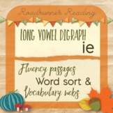 Long Vowel Digraph ie Fluency Passages Word Study and Comp