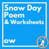 Digraphs: Long Vowel Digraph /ow/ Poem and Worksheets