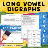 Long Vowel Digraphs Fluency Passages or Close Readings Bundle
