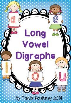 Long Vowel Digraphs- No Prep Pack