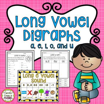 Long Vowel Digraphs (No Prep Printables)