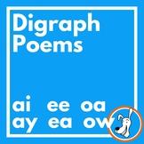 Digraphs:  Long Vowel Digraph Poems