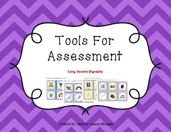 Long Vowel Digraphs - Tools for Assessment