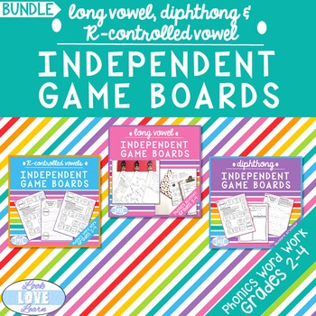 Long Vowel, Diphthong, and R-Controlled Vowel Independent