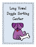 Long Vowel Doggie Sorting Center