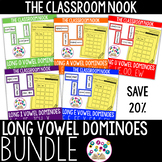 Long Vowel Domino Games - FULL SET (5 Games in All)