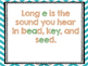 Long Vowel (E) Interactive Power-Point