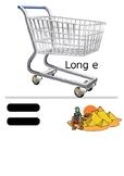 Long Vowel E Shopping Game