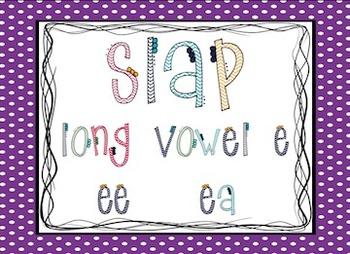 Long Vowel E: Slap Game