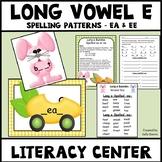 Long Vowel E Vowel Teams EE & EA Spelling Patterns