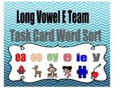Long Vowel E Team Centers