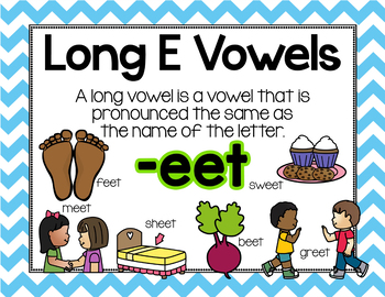 Long Vowel E Word Work {BUNDLE}