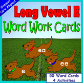 Long Vowels Kindergarten or First Grade