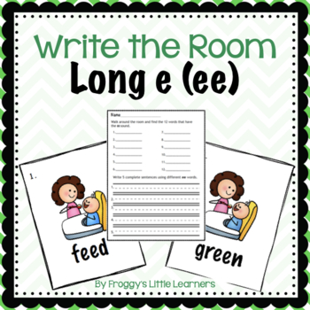 Long Vowel EE Write the Room