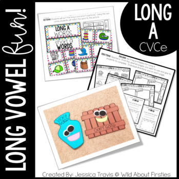 Long Vowel FUN! {Long A} Activities