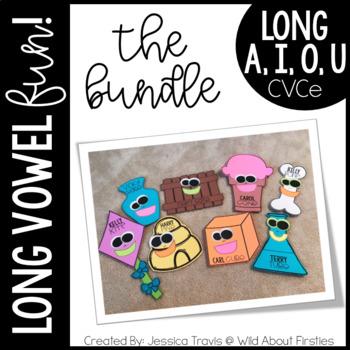 Long Vowel FUN! {The BUNDLE} A, I, O, and U