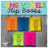 Long Vowels Flip Books | Long Vowels Activities