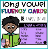 Long Vowel Fluency Cards