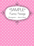 Long Vowel Fluency Passage {FREE SAMPLE}