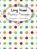 Long Vowel Fluency Passages {BUNDLE}