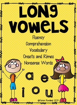 Long Vowel Fluency and Comprehension Practice