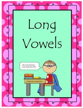 Long Vowel Freebie