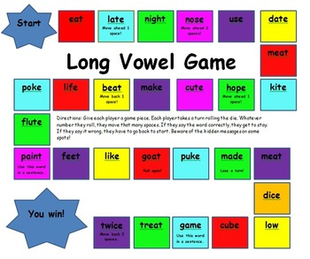 Long Vowel Game