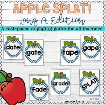 Long Vowel Game - Long A Apple SPLAT