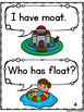 Long Vowel Games - 5 I Have Who Has Games