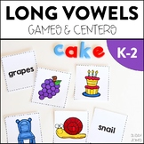 Long Vowel Games & Centers
