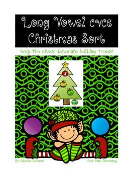 Long Vowel Holiday Trees {CVCE}