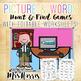 Long Vowel Hunt & Find PowerPoint Game - BUNDLE