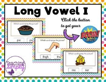 Phonics Long Vowel I BOOM Cards