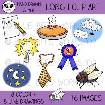 Long I Clip Art - 16 Pieces