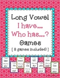 Long Vowel I Have Who Has -- 8 Games Included!