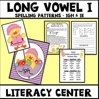 Long Vowel I Spelling Patterns