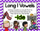 Long Vowel I Word Work {-ide Word Family}