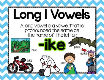 Long Vowel I Word Work {-ike Word Family}